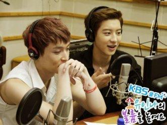 Lay and Chanyeol