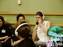 Something funny is going to come out of Sehun's mouth