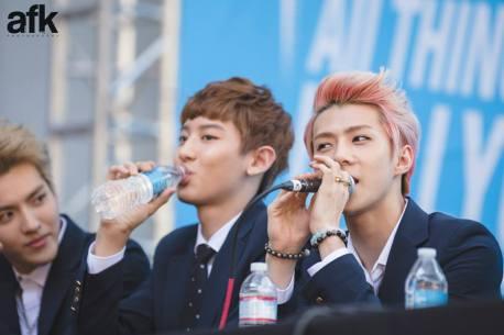 Kris, Chanyeol & Sehun