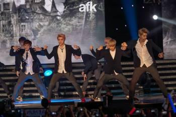 Kris, Luhan, Sehun, Kai & Chanyeol