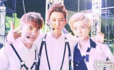 Kyungsoo, Chanyeol & Luhan
