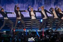 Tao, Baekhyun, Luhan, Sehun, Suho & Kai