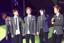 Kai, Suho, Chen, Xiumin & Baekhyun