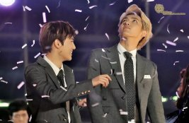 Suho & Kris in Confetti