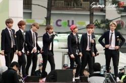 Kai, Luhan, Chen, Xiumin, Suho, D.O., Yixing & Kris