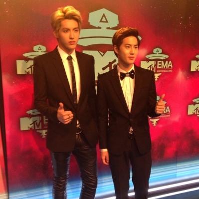 Suho & Kris @ Red Carpet
