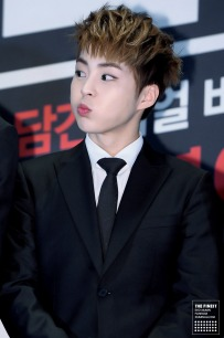 xiumin mouthful