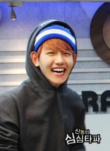Baekhyun and his rectangular smile