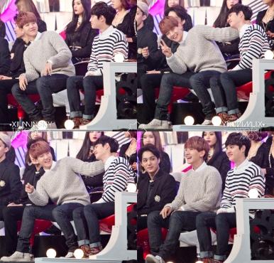 Baekhyun & D.O. Having Fun