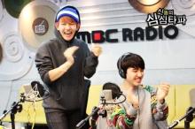 Baekhyun & D.O. Laughing and clapping