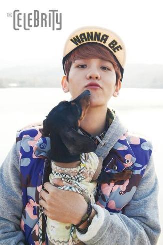 Baekhyun & Dog