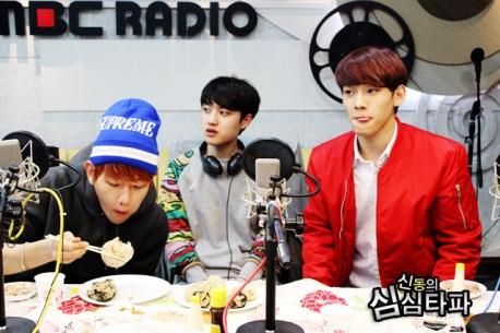 Baekhyun too Busy Eating to Care