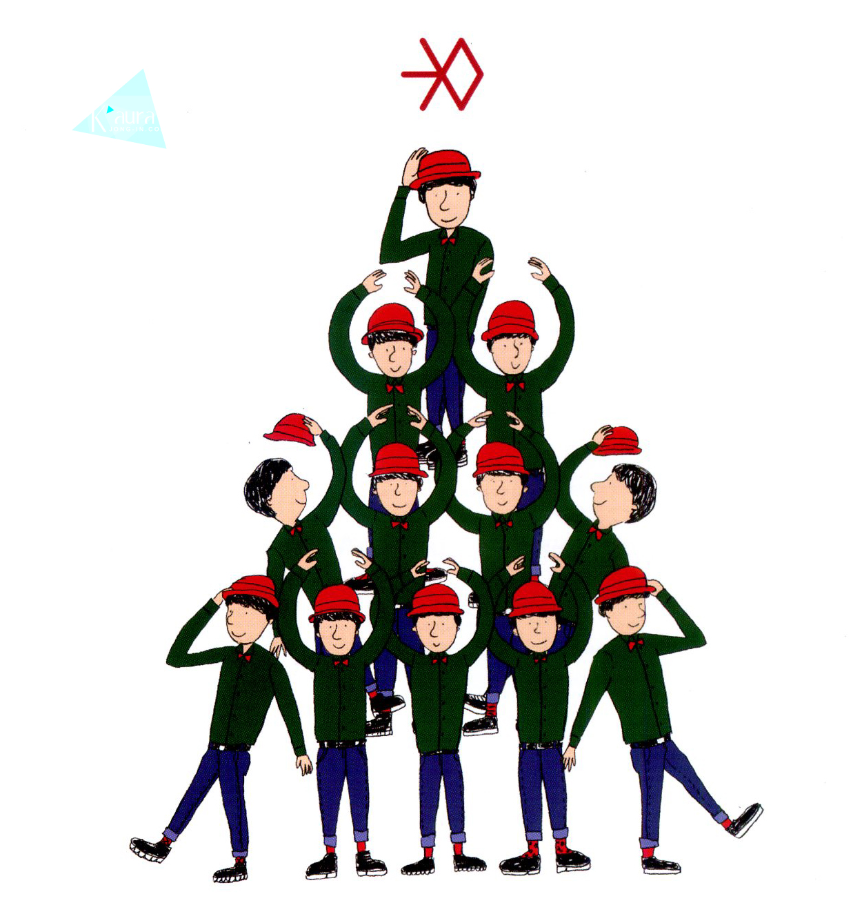 Exo Christmas Album Cover.Hq Scans Exo Miracles In December Album Photos Exotic