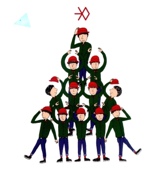 Cartoon EXO (2)