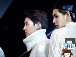 Chanyeol & Kris in Sweaters