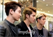 Chanyeol, Kris & Sehun - Side Profile
