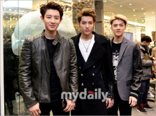 Chanyeol, Kris & Sehun Smiles
