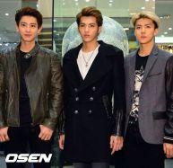 Chanyeol, Kris & Sehun