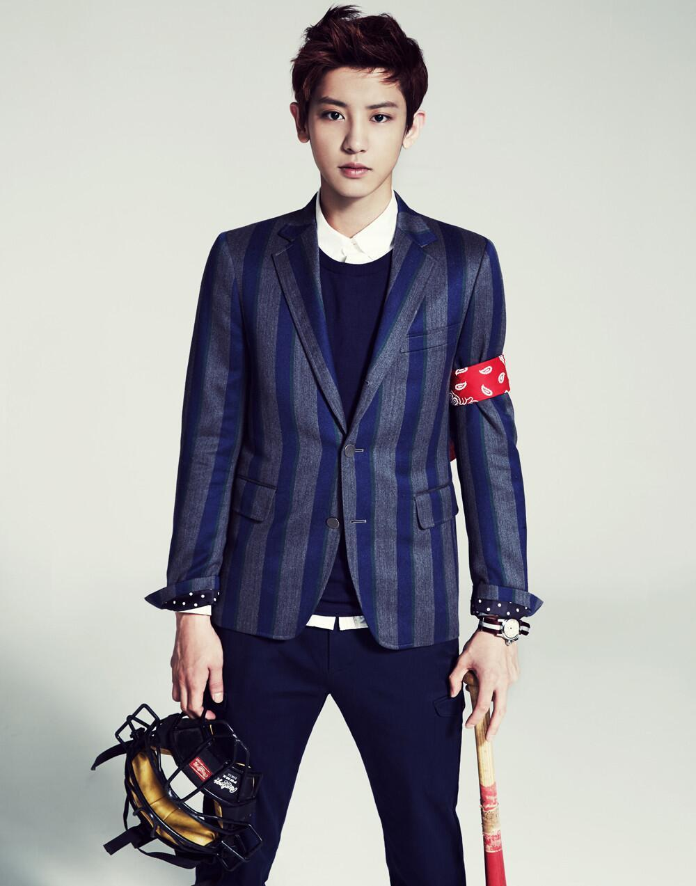 Exo chanyeol photoshoot