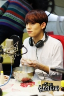 Chen caught tasting his creation