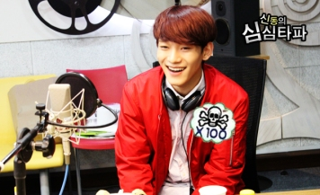Chen Laughing Wholeheartedly (2)