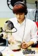 Chen preparing rice balls