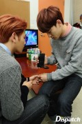 Chen Records his and Baekhyun's hands