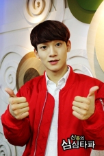 Chen with two thumbs up