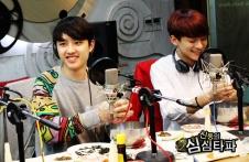 D.O. & Chen all smiles