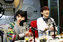 D.O. is shocked & Chen is laughing loudly
