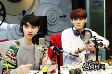 D.O. Shocked and Chen (No reaction yet)