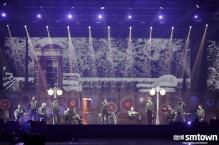 EXO in Suspenders