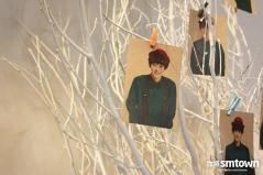 EXO Pics on a Christmas Tree