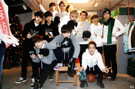 EXO with BWCW Merchandise