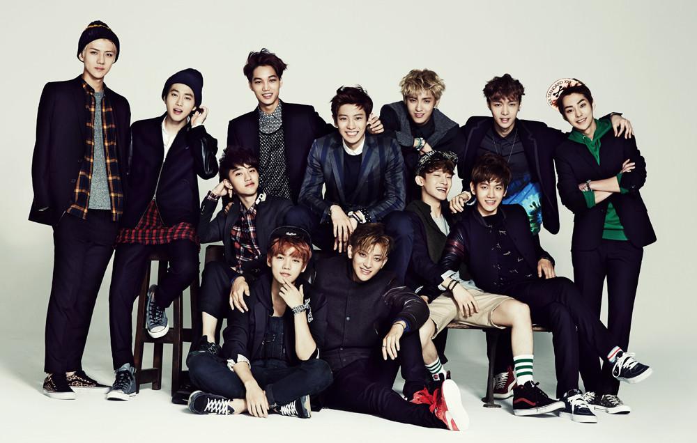 HQ SCANS] EXO @ 2014 Season's Greetings Photoshoot | EXOTIC PLANET