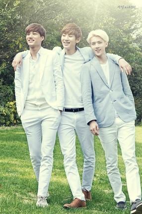Kai, Chanyeol, Sehun