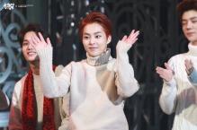 Kai, Xiumin & Luhan in Sweaters