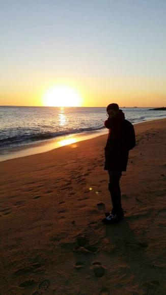 Kris @ Beach