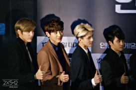 Kris, Chanyeol, Sehun, Kyungsoo
