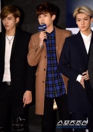 Kris, Chanyeol, Sehun