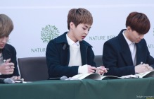 Kris, Xiumin, Suho Signing