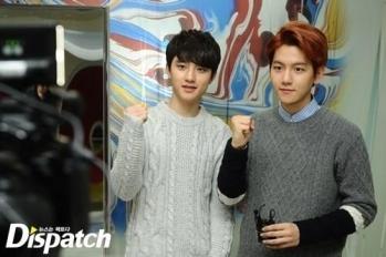 Kyungsoo & Baekhyun Hwaiting!