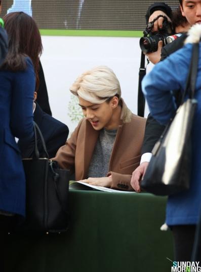 Sehun Signing