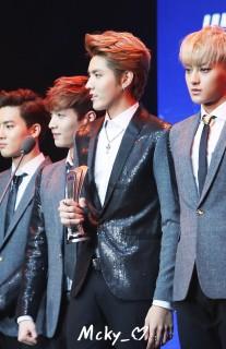 Suho, Yixing, Kris, Tao