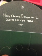 Merry Christmas & Happy New Year Together with EXO... have a happy 2014 too ^^ -Suho-