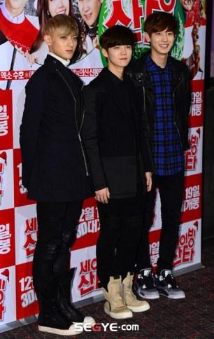 Tao, Luhan, Chanyeol