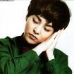 Xiumin Asleep