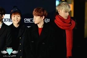 Xiumin, Baekhyun, Tao