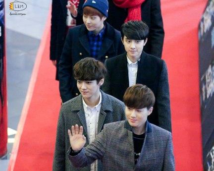 Xiumin, Kyungsoo, Luhan, Suho