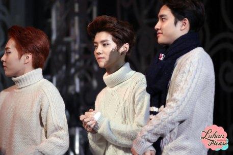 Xiumin, Luhan, D.O. in Sweaters